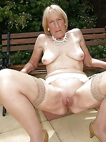 Glamour mature mistresses in their solo play